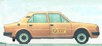Škoda 120 L model 1984